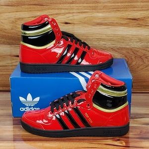 Adidas Top Ten High   Red & Black   (FV5501)